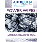Autochem Power Wipes