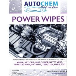 Autochem Power Wipes