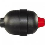 Pulsatiedemper  0.35 liter - 210 bar - 3/8 F