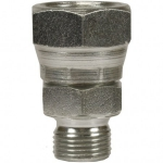 Swivel adapter 3/8 F - 1/2 M