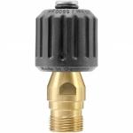 Adapter k-lock M22 F QS - TR22 M