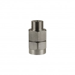 "Swivel 500 bar 3/8"" RVS"