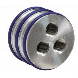 Drievoudige nozzle
