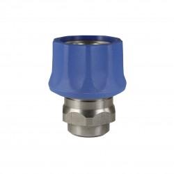 snelkoppeling ST-3100  blauw rvs binnen
