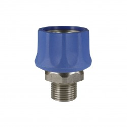 snelkoppeling ST-3100  blauw rvs buiten