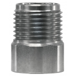 Schuimkop adapter RVS 1/4 F - M18 M