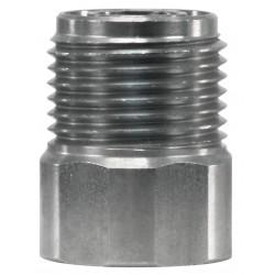 Schuimkop adapter RVS 1/4 - M18