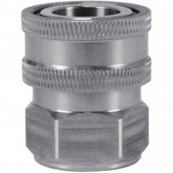 Snelkoppeling ST-246-6 RVS 3/8 bi