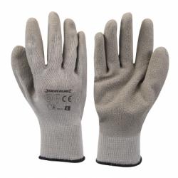 Handschoen met latex handpalm